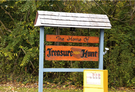 Treasure Hunt Sign